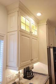 cabinet ends ideas wall decorative doors finish the ends of this stacked