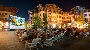 free outdoor summer movie series squaw alpine
