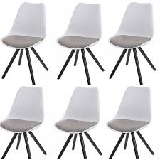lot de 6 chaises salle manger chaise salle a manger grise trendy previous with chaise salle a