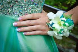 Teal Corsage Lisa Foster Floral Design Corsage Bar Prom Flowers In Knoxville
