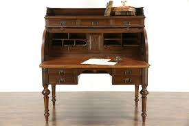 Old Roll Top Desk Roll Top Secretary Desk Best Home Furniture Decoration