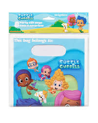 amazon com bubble guppies treat bags pack of 8 party supplies