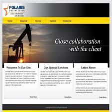 web page design web page design contests polaris engineering ltd requires a new