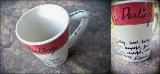 Mug Vs Cup by Let U0027s Drink Coffee Darling Personalizing A Ceramic Mug Trial Run