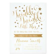 twinkle twinkle baby shower twinkle invitations announcements zazzle