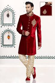 indian wedding dress for groom velvet mens ethnic indian wears sherwani kurta wedding