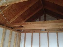 creating attic storage space outdoor shed carpentry diy