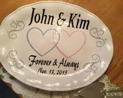 wedding platters wedding platter etsy