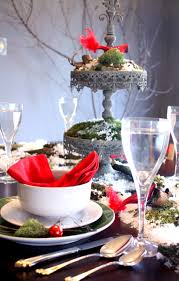 snowy woodland tablescape u2022 craft thyme