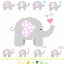 pink and grey elephant baby shower free printable elephants for corsage in baby shower