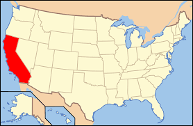 Blank California Map by California On Usa Map California Map