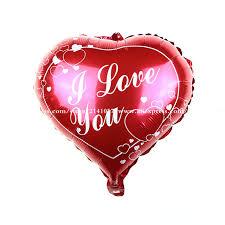 heart balloons 30pcs lot i you foil balloon heart balloons helium