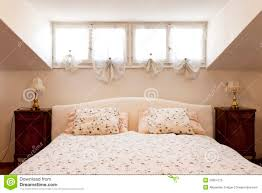 Small Loft by Small Loft Furnished Bedroom Royalty Free Stock Photo Image
