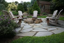 Firepit In Backyard Yard Pit Ideas Garden Design