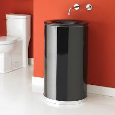 decolav 1199t tbk tempered glass bathroom sink transparent black