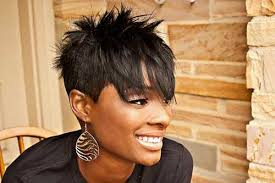 spiked hairstyles for black woman hair