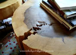 how to make a round table somewhat quirky how to make a tree round table