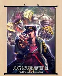 bizarre home decor jojo jojo s bizarre adventure jotaro cosplay home decor poster wall