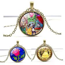 rose glass necklace images Stained glass necklace trendy tested jpg