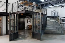 Industrial Stairs Design Loft Entrance