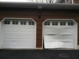 how to fix wood paneling replace garage door panel wageuzi