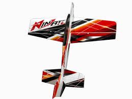 nitroplanes rc 4 channel ninjato epo aerobatic plane kit rc remote