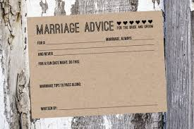 marriage advice cards for wedding 50 wedding advice cards and groom advice cards