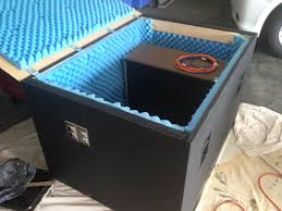 How To Build A Guitar Cabinet by Diy Guitar Amp Isolation Cabinet Build Guitar Amp Guitars And