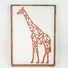 eclectic giraffe ring holder images Metal giraffe decor wayfair jpg