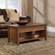 coffee table roundt top coffee table storage hammary ascend
