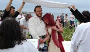 mariage celtique le télégramme cléder mariage celtique vive nerta et cleuios