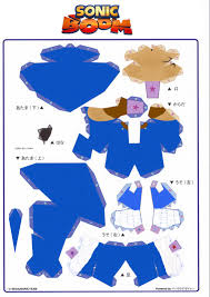 Sonic The Hedgehog Papercraft - lj s content page 17 mine imator forums