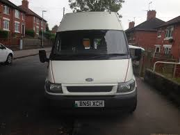 2001 51 ford transit 300 mwb high roof motorhome in stoke on