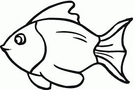 fish black and white rainbow fish clipart black and white 4