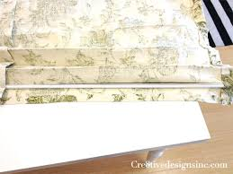relaxed roman shade pattern how to make a relaxed roman valance cre8tive designs inc