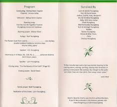 funeral program wording santosx46ooylv s soup