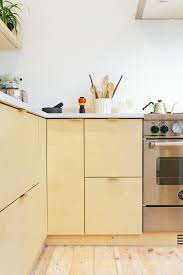 Ikea Kitchen Cabinet Catalog Plykea In London Stylish Plywood Cabinet Fronts And Worktops For