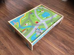 matchbox car play table low table for children play table ideal for train tracks matchbox