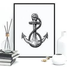 rustic nautical home decor articles with anchor wall decor with lights tag anchor wall decor