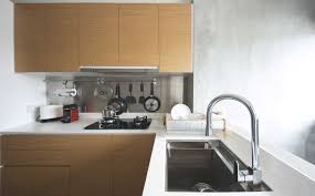Kitchen With Stainless Steel Backsplash Kitchen Home U0026 Decor Singapore Stainless Steel Backsplash