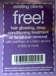 jcpenney hair salon coupons and salon products sale fre coupons