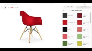 Vitra Eames Plastic Armchair Vitra Eames Plastic Chair Configurator Youtube