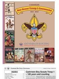 cashmere boy scout centennial boy scouts of america scouting
