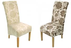 Patterned Dining Chairs Shankar Dining Chairs Oak Legs Patterned
