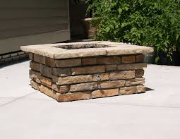 Stone Fire Pit Kit by Outdoor Fire Pit Kits 42