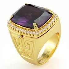 amethyst gold rings images 14k gold poison amethyst ring hip hop rings king ice kingice jpg