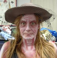 Creepy Makeup Halloween Halloween Makeup Old Woman Halloween Takeover Pinterest