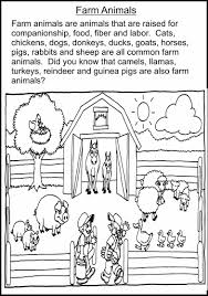 ideas of farm animals worksheets pdf with additional form