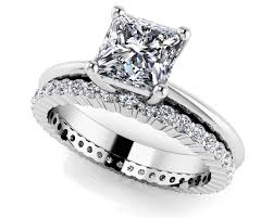 cheap wedding sets wedding wedding sets silver cz band engagement ring