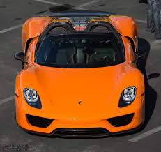 orange porsche 911 convertible porsche 918 spyder colors